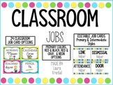 Classroom Job Cards (Primary & Neon Frames)