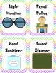 Classroom Jobs {ready to print, labels}