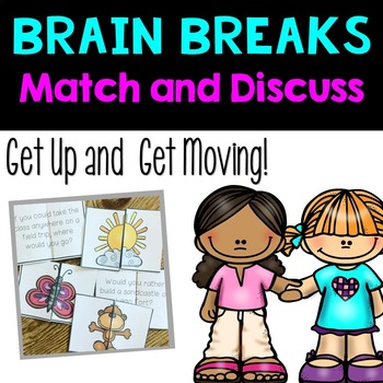 Find a Partner {Brain Breaks}