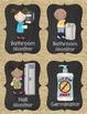 Classroom Jobs {Burlap and Chalkboard}