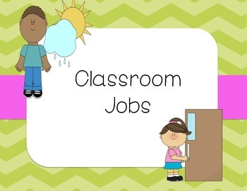 Classroom Jobs (Chevron)