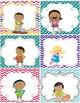 Classroom Jobs {Classroom Decor Chevron Polka Dot Theme}