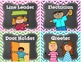 Classroom Jobs Chevron and EDITABLE Job Cards
