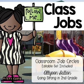 Classroom Jobs - Create Leaders In Your Classroom!