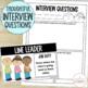 Classroom Jobs {Job Cards, Applications, & Interview Quest