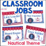 Classroom Jobs - Nautical Theme