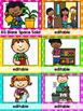 Classroom Jobs Clip Chart in Polka Dots {EDITABLE}