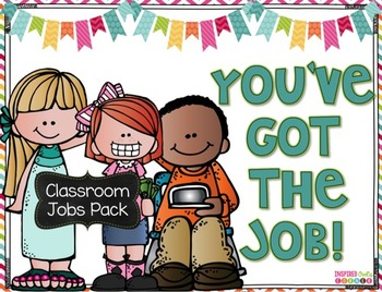 Classroom Jobs Posters {Bulletin Board Set}
