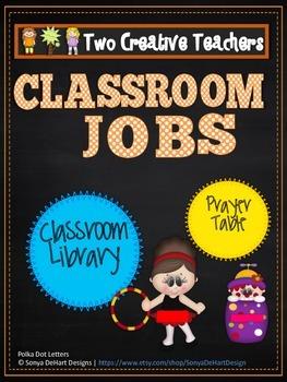 Classroom Jobs Circus Theme
