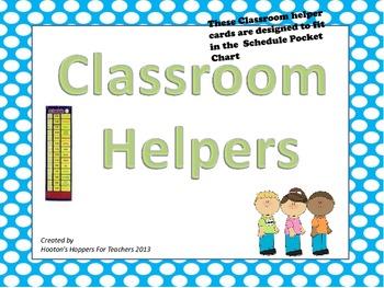 Classroom Jobs (boy and girl)