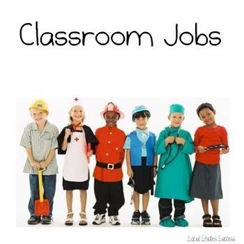 Classroom Jobs for Texas History