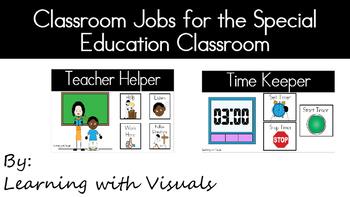 Classroom Jobs in Special Education Classroom