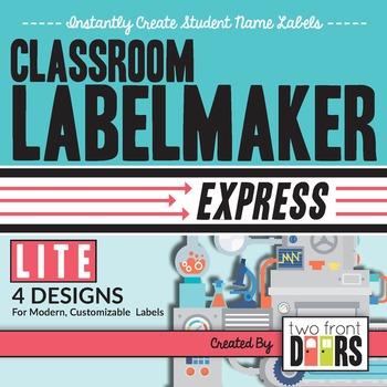 Classroom Labelmaker