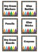 Classroom Labels | Labels | Supply Labels | Printable Labe