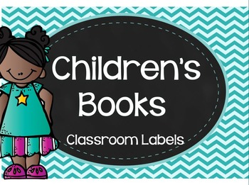 Children's Books- Classroom labels