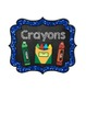 """Classroom Labels {Large 5.83 x 7}: Glitter & Chalk - """"Read"""