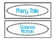 Classroom Labels for Organization:  Black and Blue
