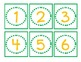 Classroom Labels for Organization:  Green and Gold