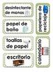 Classroom Labels in Español (Spanish)
