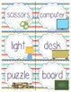 Classroom Labels with Clipart Photos