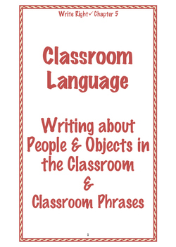 EFL Write Right Chapter 5 - Classroom Language