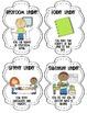 Classroom Leaders Job Chart