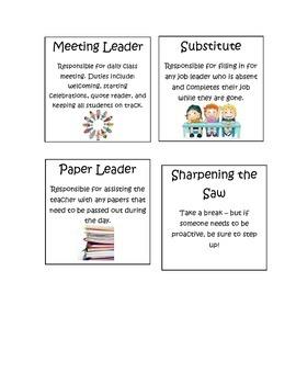 Classroom Leader Jobs