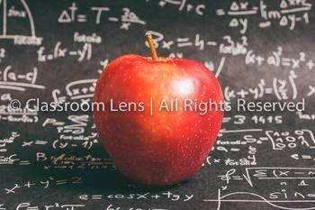 Classroom Lens Stock Photo - Apple