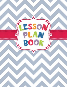Classroom Lesson Plan Book - Chevron