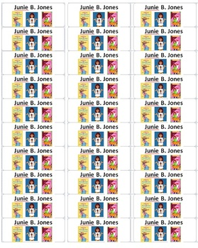 Classroom Library Book Labels 2