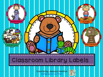 Classroom Library Book and Bin Labels