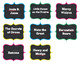 Classroom Library Labels - Chalkboard - Clean Look