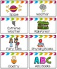 Classroom Library Labels {Topics, Themes, Genres, Authors,