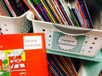 Classroom Library Organization (BY GENRE)