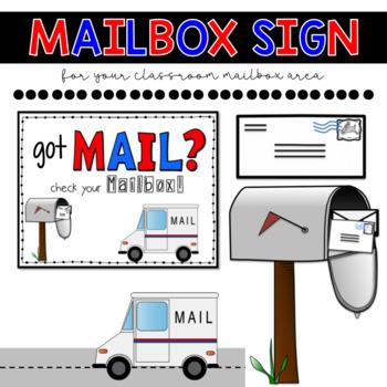 Classroom Mailbox Label