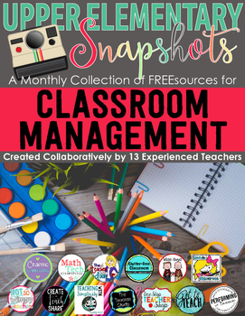 Classroom Management: A Monthly Collection
