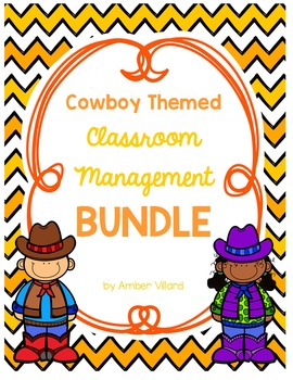 Classroom Management BUNDLE {Cowboy}