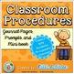 Behavior Management BUNDLE:Take A Break, Classroom Procedu