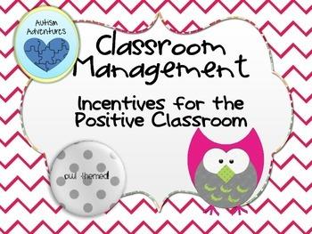Classroom Management Bundle: Chevron Owl Theme