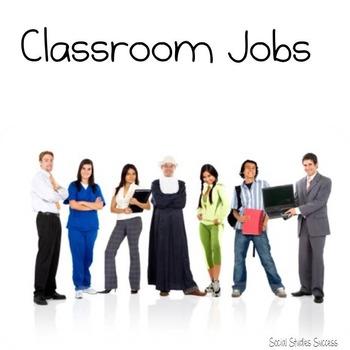 Classroom Management - Classroom Jobs