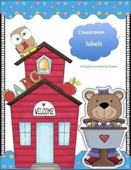 Classroom Management: Classroom Labels