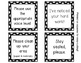 Classroom Management Cue Cards