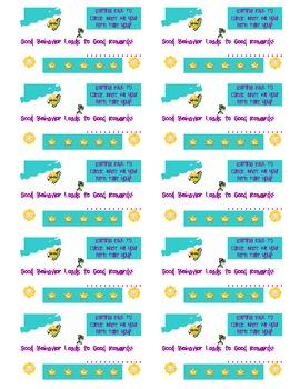Classroom Management Daily Behavior Cards