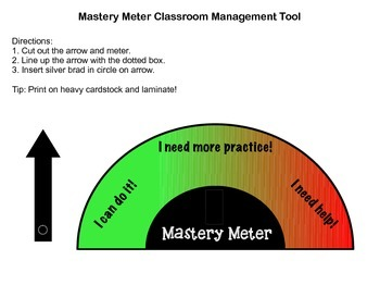 Classroom Management Mastery Meter