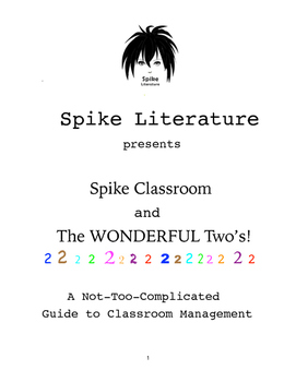 Classroom Management - Our 'Wonderful 2s'! (Study Guide only)