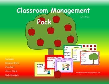 Pre-K Classroom Management Pack