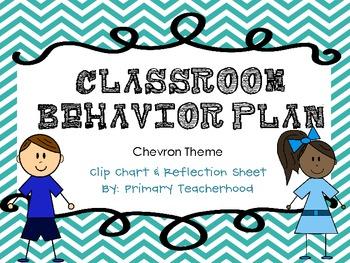 Classroom Management Plan- Chevron Theme
