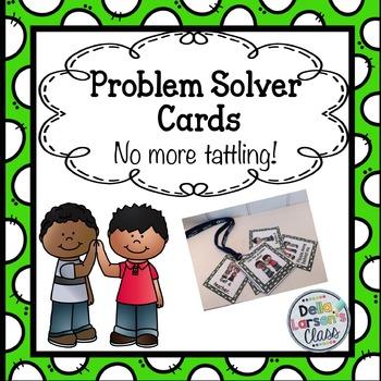 Classroom Management - Problem Solver Cards