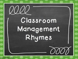 Classroom Management Rhymes