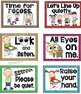 Classroom Management Signs and Positive Words Set {Crayon Themed}